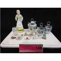 Royal Worchester Egg Coddlers & More
