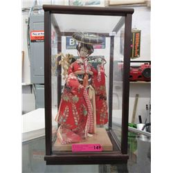 Geisha Doll in Display Box