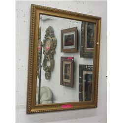 Large Well Framed Mirror