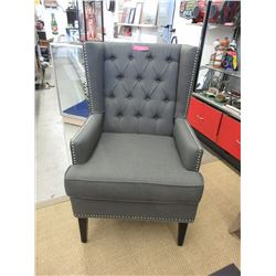 New Stylus Fabric Upholstered Arm Chair