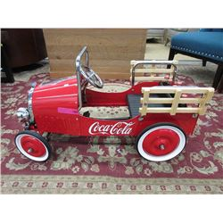 New Children's Coca-Cola Pedal Car