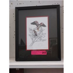 "Richard Shorty Framed Print ""Spirit of the Eagle"""