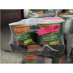 6 x 100 Ounce Tins of Primo Pasta Sauce