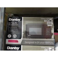 New Danby 0.7 Cubic Foot Microwave - 700 Watt