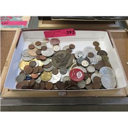 Variety of Coins and Tokens