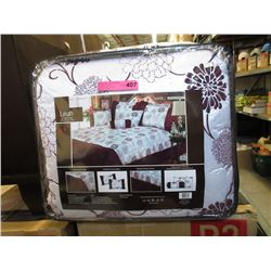 New Queen Size 7 Piece Comforter Set