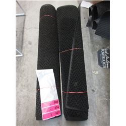 "2 x 34"" Wide Rubber Backed Carpets"