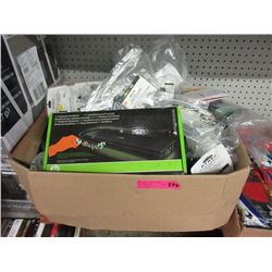 Large Case of Store Return Electronics Accessories