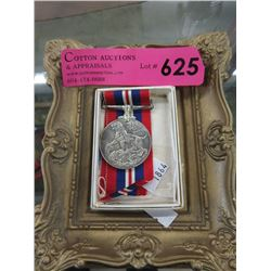 WWII King George VI Medal with Ribbon