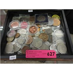 Assorted Coins & Tokens