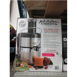 Jack La Lanne's Ultimate Power Juicer