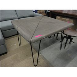 New LH Imports Driftwood Style Condo Table