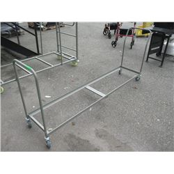 Rolling Folding Chair Stack Cart