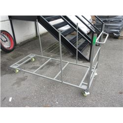 Rolling Folding Table Stack Cart