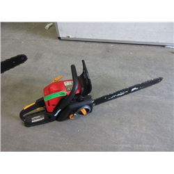 "Homelite 42cc Chain Saw 18"" Bar"