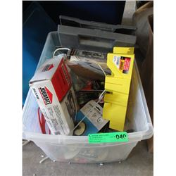 Bin of Electric & Hand Tools