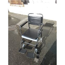 Invacare Aquatic Mobile Commode Chair