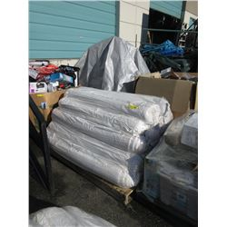 Skid of 20 Assorted New Area Carpets