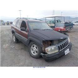 2001 - JEEP CHEROKEE / BONDED TITLE