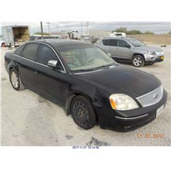 2007 - FORD FIVE HUNDRED