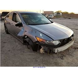2011 - ACURA TSX// SALVAGE TITLE