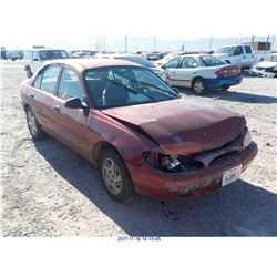 1998 - FORD ESCORT // REBUILT SALVAGE