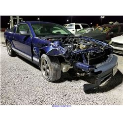 2006 - FORD MUSTANG // REBUILT SALVAGE
