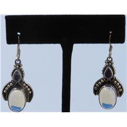 Sterling Silver .925 Vintage Dangle Earrings