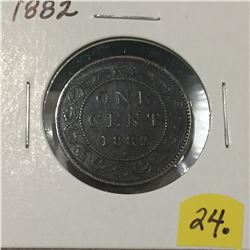 1882 Canada Large Cent
