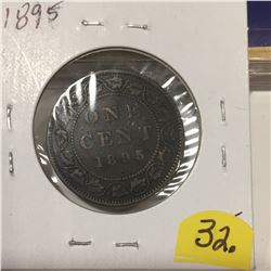1895 Canada Large Cent