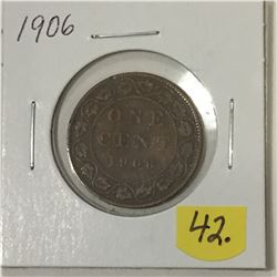 1906 Canada Large Cent