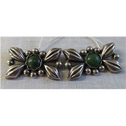 2 Mexican Matching Sterling Silver Pins