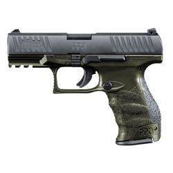 WALTHER ARMS PPQ M2 9MM OD GREEN 15+1 4""