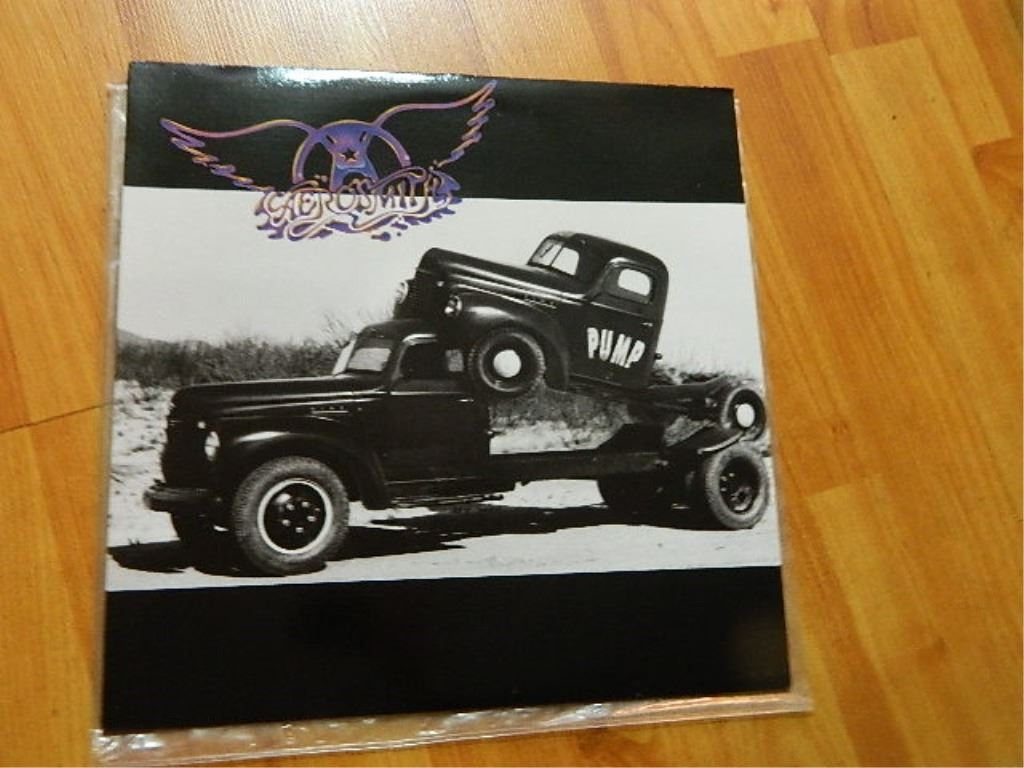 Image 1 : VINYL RECORD - AEROSMITH - PUMP - XGHS 24254 - condition - really  ...