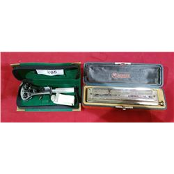 HOHNER HARMONICA IN CASE & TOOL IN CASE