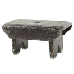 Primitive Painted Child's Stool