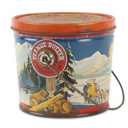 Clark's Peanut Butter Tin litho Montreal