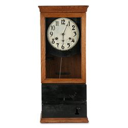 International Wall Punch Clock
