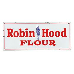 Large Porcelain Robin Hood Flour Sign