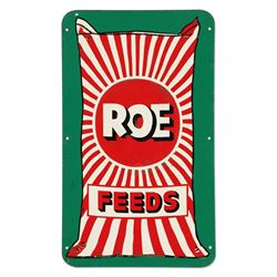 Roe Feeds Tin Sign