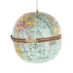 Cardboard Globe Candy Container