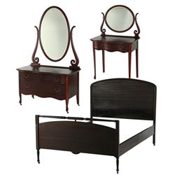 Mahogany Three Piece Bedroom Suite