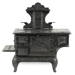 Working Miniature Cast Iron Stove