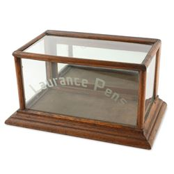"""Laurance Pens"" Store Display Case"
