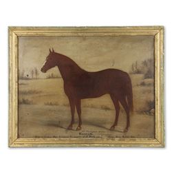 Rare Kenyon Oil Painting of a Horse