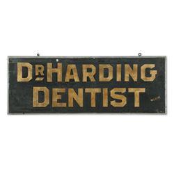 Dr. Harding Dentist Trade Sign