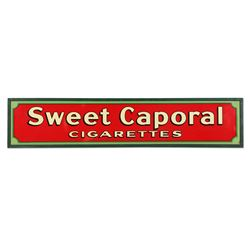 Framed Tin Sweet Caporal Cigarettes Sign