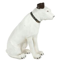 "Canadian Victor ""Nipper"" Dog Store Display"
