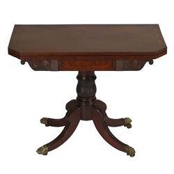 Superb Canadian Maritime Card Table