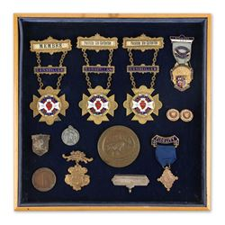 Masonic Medals and Tokens